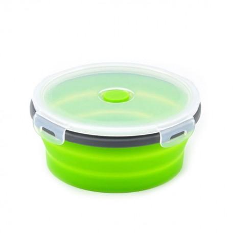 Складной ланч-бокс для продуктов Eco1shop Круглый Зеленый