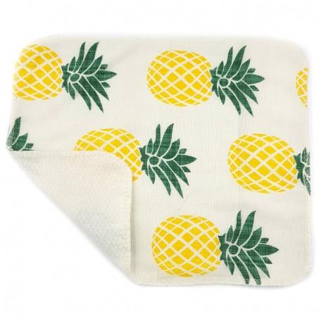 Кухонное полотенце из хлопка двухслойное Eco1shop Ананас