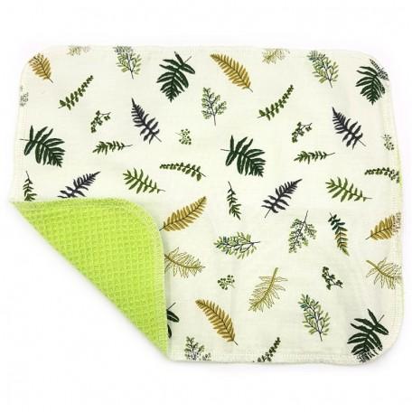 Кухонное полотенце из хлопка двухслойное Eco1shop Лист