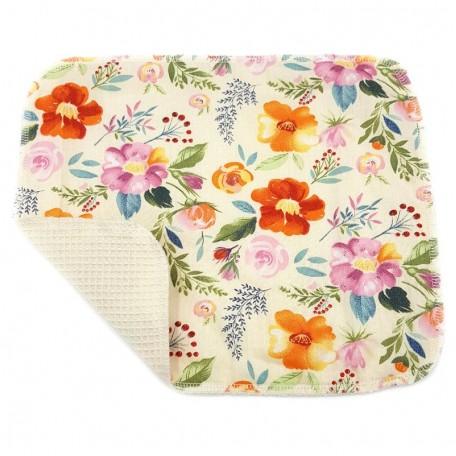 Кухонное полотенце из хлопка двухслойное Eco1shop Роза