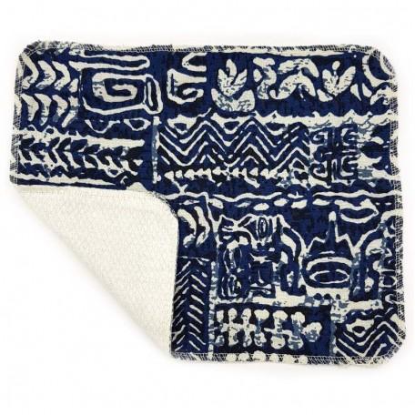 Кухонное полотенце из хлопка двухслойное Eco1shop Волна