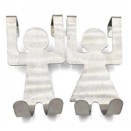 Навесные крючки Eco1shop Нержавеющая сталь