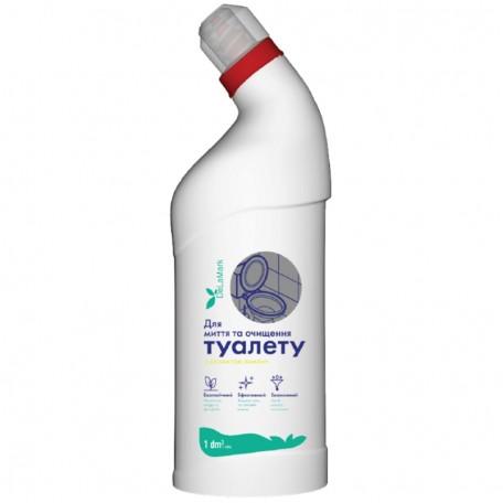 Концентрированное средство для мытья туалета DeLaMark с ароматом лимона 1 л
