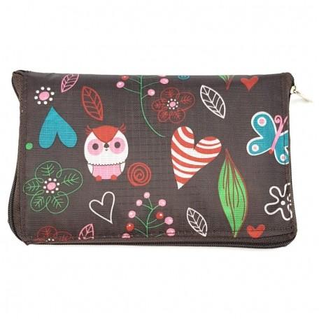 Хозяйственная сумка складная с карманом Eco1shop 41 х 40 см