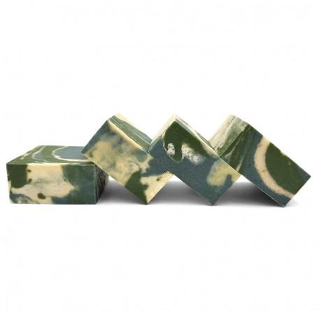 Натуральное мыло Eco1shop c Зеленой Голубой глиной