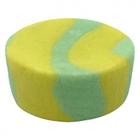 Твердая пена для ванной Eco1shop Двухцветная