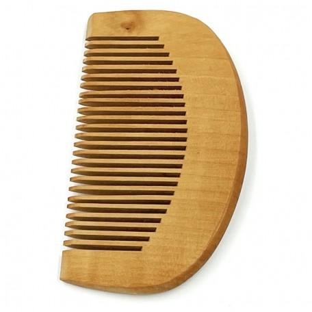 Деревянная расческа-гребешок с узкими зубцами Eco1shop Простая