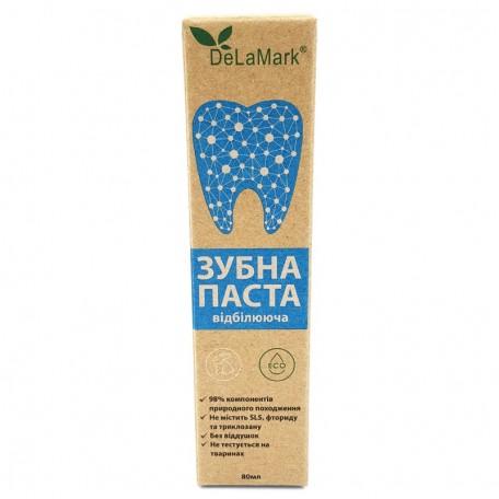 Натуральная зубная паста DeLaMark Отбеливающая