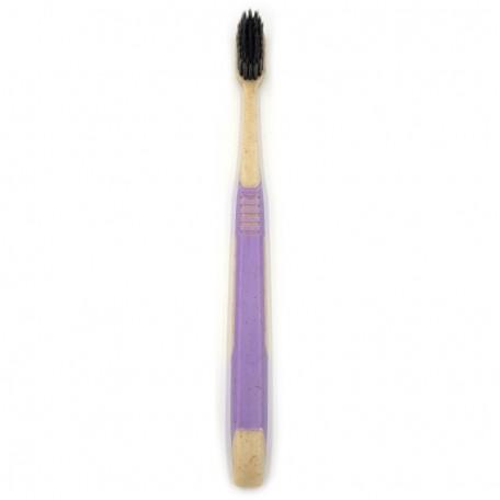 Взрослая зубная щетка из пшеничной соломы Eco1shop Двухцветная