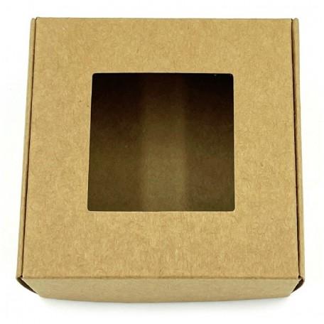 Картонная коробочка Eco1shop Квадрат 7,7 см