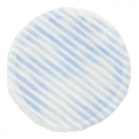 Диск для снятия макияжа Eco1shop Цветной Полосатый Бамбук