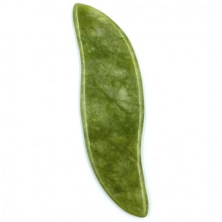 Скребок Гуаша Eco1shop Обтекаемый Нефритовый Зеленый